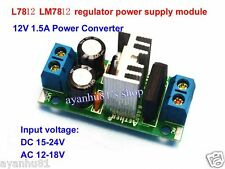 LM7809 L7809 AC/DC to 12V 1.5A Regulator Rectifier Converter Power Supply Module