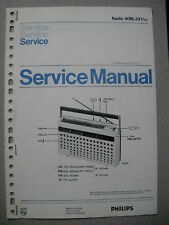 Philips 90 RL321 Kofferradio Service Manual