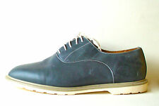 Mens Doc Martens Leather Solid Navy Blue Bronson Duke Oxford Shoes 11 Medium Dr