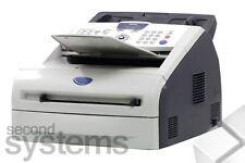 Brother fax-2920 fax/laserfaxgerät fotocopiadora bajo 5.000 páginas-buen estado
