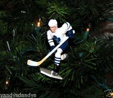mats SUNDIN toronto MAPLE LEAFS hockey NHL xmas TREE ornament HOLIDAY jersey #13