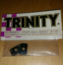 TRINITY EV10 & REVOLVER 12 NYLON PIVOT BALL SOCKET /RE0072