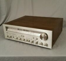 Vintage Akai AA-1175 AM/FM Receiver Silver Face 75 Watts Serviced One Owner Nice