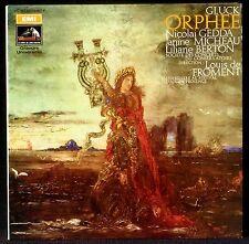 Gluck Orphée Louis de Froment Gedda Micheau Berton 2 x LP & CV NM