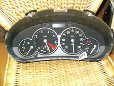 tacho kombiinstrument peugeot 206 berlingo cluster cockpit CLOCKS  9645847180