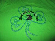 2011 Adidas 115th BOSTON MARATHON St Patricks Day (XL) T-Shirt GREEN Irish