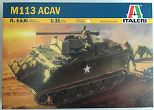 Italeri 6506 1/35 Scale M113 ACAV Model Kit NIB