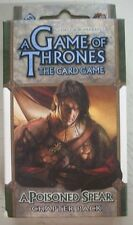 A Game of Thrones The Card Game A Poisoned Spear Chapter Pack NEW Still Sealed