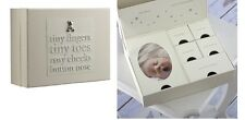Bambino Baby Keepsake Memory Box Tiny Fingers Tiny Toes Lovely Christening Gift!