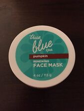Bath And Body Works True Blue Spa Pumpkin Face Mask New