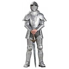 Knight Costume Adult Medieval Armor Renaissance Halloween Fancy Dress