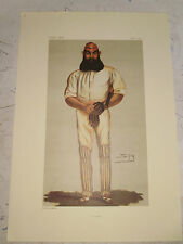VANITY FAIR PRINT CRICKET WILLIAM GILBERT GRACE  FREE  UK POSTAGE