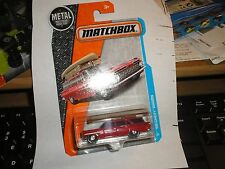 MATCHBOX '59 Chevy Wagon #1 Red 2017 Matchbox CANOE ON TOP