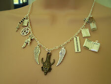 SUPERNATURAL THEMED NECKLACE - Sam Dean Castiel