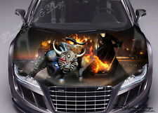 Buffalo Anime Full Color Graphics Adhesive Vinyl Sticker Fit any Car Hood #146