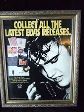 """*EXTREMELY RARE*""""Collect All The Latest Elvis Releases"""" US Postal Service Poster"""
