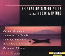 Relaxation & Meditation Music & Nature 5 CD Box Set ~BUY 3, SHIP FREE!