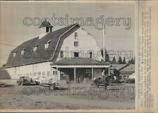 1970 Horse Barn Oregon State University Press Photo