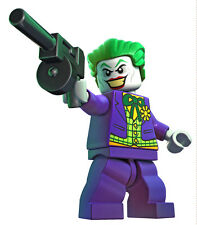 Joker With Gun Lego Wall Sticker Decal Easy Reuse / Remove
