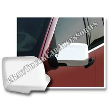 For MERCURY Mountaineer 2006 2007 2008 2009 Full Chrome Mirror Covers 2 Pair Set