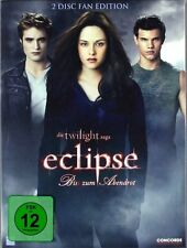 Twilight: ECLIPSE, Bis(s) zum Abendrot (2 DVDs, Fan Edition) NEU+OVP