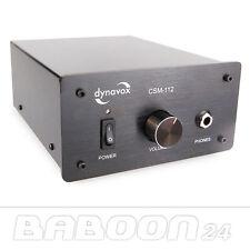 Kopfhörerverstärker Dynavox CSM-112, Schwarz, Kopfhörer Verstärker, Amp