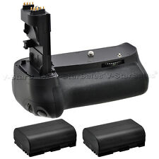Battery Grip for Canon EOS 60D + 2X LP-E6 Batteries