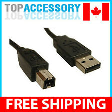 6 Feet USB 2.0 Type A Male to B Male Printer Cable
