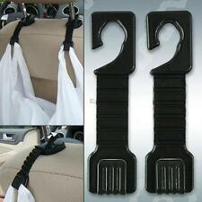 2PCS PLASTIC AUTO CAR TRUCK SUV SHOPPING BAG HOLDER SEAT HOOK HANGER ORGANIZER