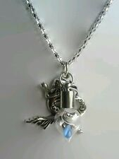 Mermaid's tear glass bottle necklace pirates of the Caribbean