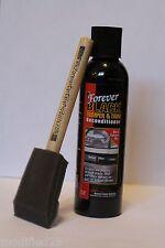 FOREVER BLACK Bumper Trim Fender Flare Dye & Brush only - No Cleaner provided