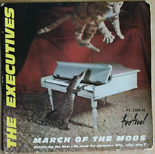"THE EXECUTIVES ""MARCH OF THE MODS""   45 TOURS    4 TITRES"
