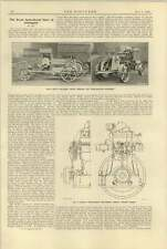 1920 Mclarens Motor Windlass Cable Haulage Ploughing Allen Engine