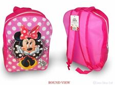 Disney Minnie Mouse 'Fashion Icon' Large Pvc Front School Bag Backpack