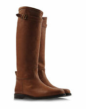 New Henry Cuir Beguelin Leather Riding Boots Camel size 36 $1035