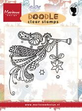 Marianne Design DOODLE ANGEL Clear Rubber Stamps  EWS2220