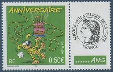 "FRANCE 2003 N°3569A**  TIMBRE PERSONNALISE Marsupilami logo ""CERES"" TTB, MNH"