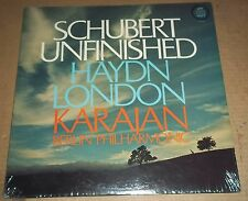 Karajan SCHUBERT Unfinished HAYDN London - Angel S-37058 SEALED