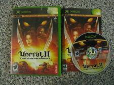 Unreal II: The Awakening, complete  (Microsoft Xbox, 2004)