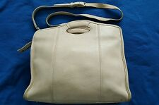 Vintage Coach Large Shopper #9995 Briefcase Zip Top Off~white Great for Summer!