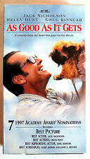 AS GOOD AS IT GETS - JACK NICHOLSON - VHS TAPE