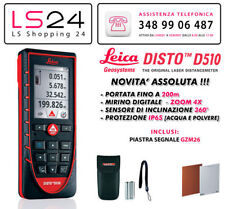 Leica DISTO D510 Nuovo Modello - Compatibile con Apple Iphone & Ipad