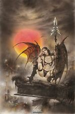 Poster FANTASY (by Luis Royo) - Black Tinkerbell ca60x90cm NEU 55779