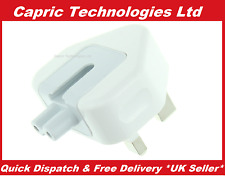 Apple Macbook Pro 3-AMP Fused UK Slide On Wall Plug For MagSafe Charger Adapter