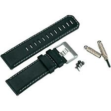 Reloj Banda Correa De Cuero Negro Garmin Para Fenix D2 Tactix Quatix 010-11814-01