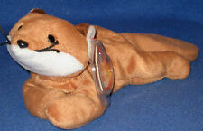 TY BROWN BELLY SLY the FOX BEANIE BABY - MINT with MINT TAGS
