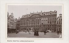 Belgium Postcard - Bruxelles - Grand' Place - La Maison Des Corporations U270