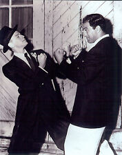 Great 8x10  photo of  Rocky Marciano with  Frank Sinatra