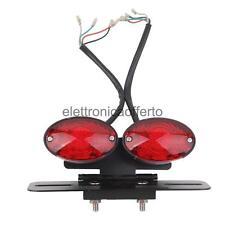 Freno Fanale Posteriore 34 LED Indicatore di Direzione Luce per Moto Scooter