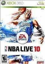Microsoft XBox 360 Game NBA LIVE 10